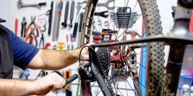 Mobile Maintenance Repairs Bicycles Services on location