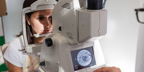 Eye health exams including glaucoma and cataracts screening.