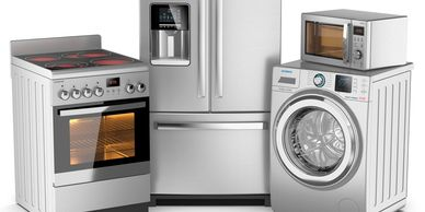 Appliances-Stove-Fridge-Washer-microwave