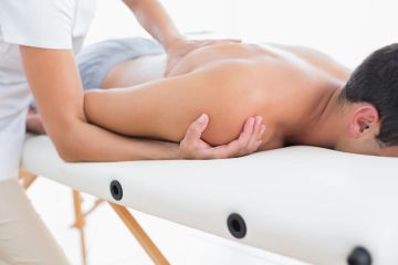 Deep tissue massage in Savannah,  Georgia for pain relief.