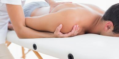 Massages for back pain and shoulder pain