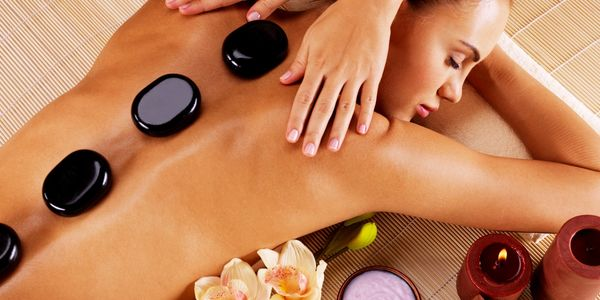 hot stones massage, hot and cold stones, relaxing massage