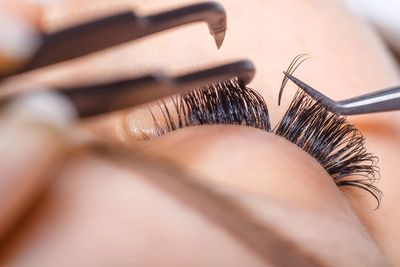 Semi-permanent eyelashes Wirral and lashes wirral image