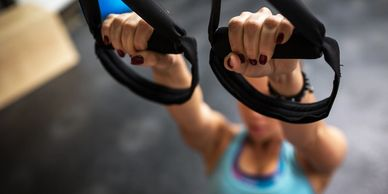 TRX Suspension Training Group Class at 1 Lifestyle Fitness Gym in Auburn CA, GROUP CLASSES