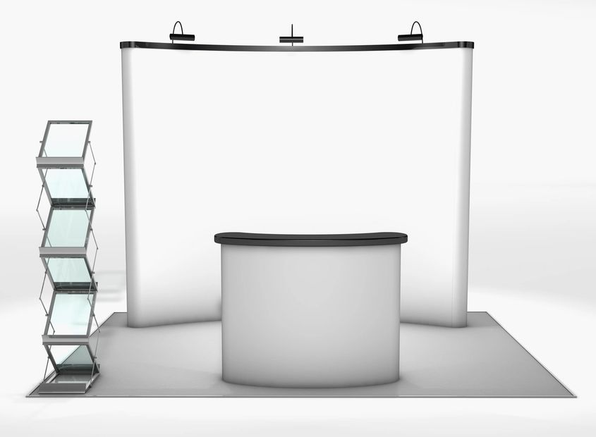 Portable pop up display | Stall Fabricators | Exhibition Booth Designers | Circlrboxx Stall Builders