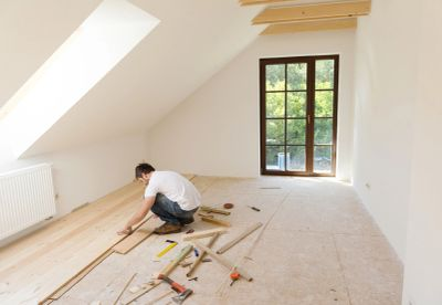 Engineered wood flooring is constructed from multiple plies of wood.