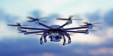 Injured by a flying drone #droneinjury #droneaccident #droneaccidentlawyer