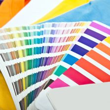 print colors to match your company brand. Custom color matches