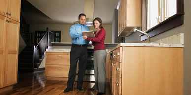 Kitchen inspection, appliance inspection, home inspector, house inspector, property inspection