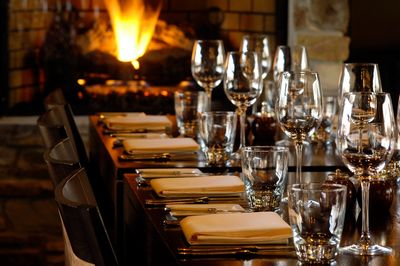 Enjoy a winery dinner with the winemaker.