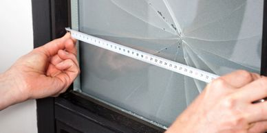 We can repair most wood frames as well as broken glass.