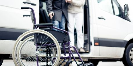 Picture of accessible transporation