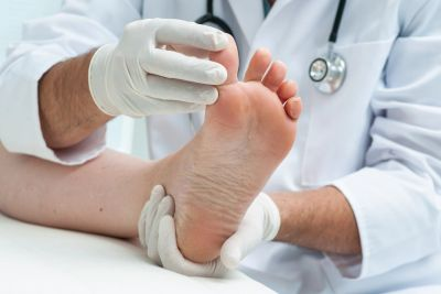 Our Chiropodist can treat many foot conditions and prescribe medications.