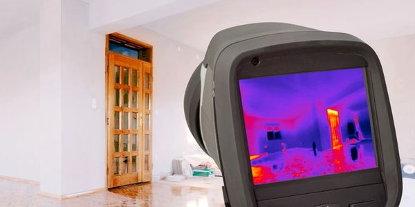 Thermal Camera looking inside walls.