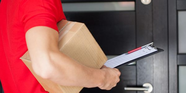 Courier and delivery service at your doorstep.