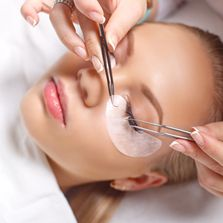 lash extensions, waxing, lash/brow tinting, facials, massage, relaxing, natural, therapeutic, pure