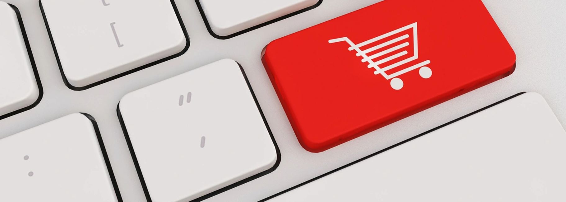 Online sales and shipping cart button