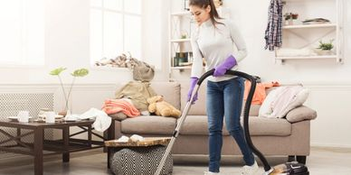 Full service home cleaning