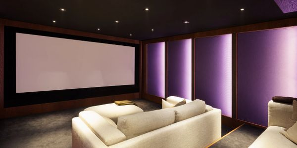 Home Theater Installation by Keystone Construction Services LLC.