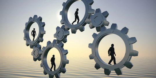cogs in business allowing everyone to get to where they want to, recruitment, solutions, business
