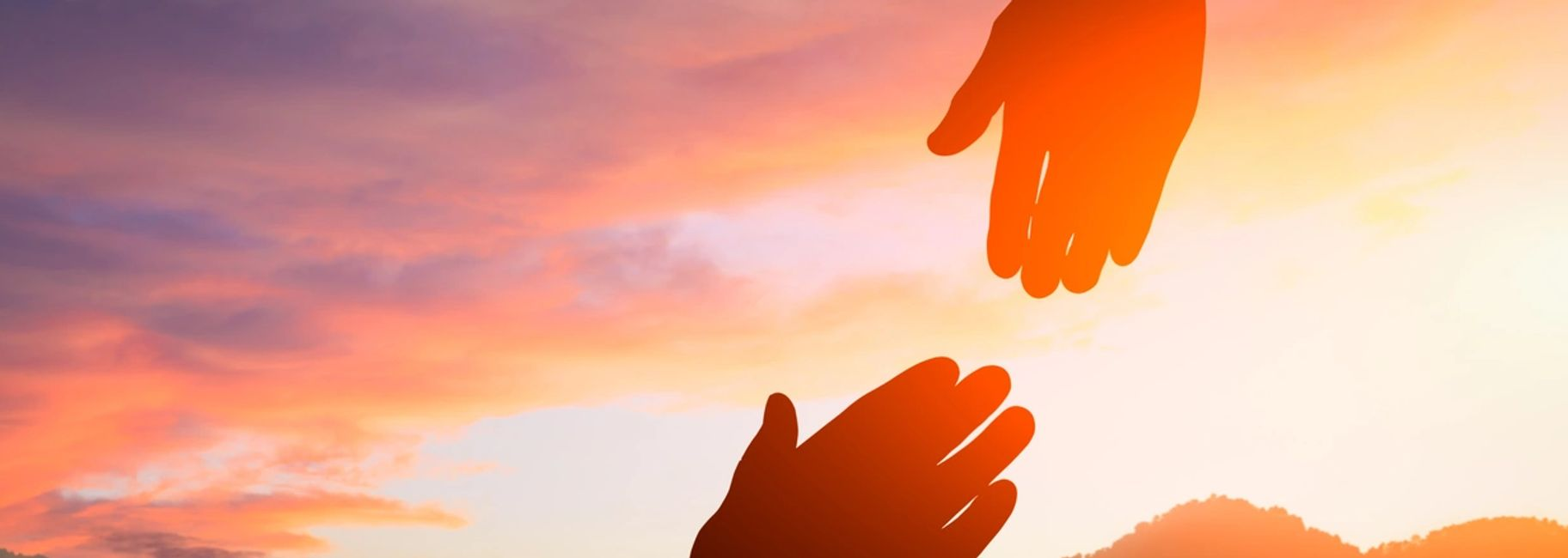 Helping hands for maintaining sobriety..