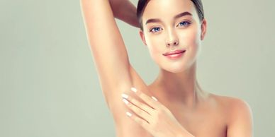Using botox to treat people suffering from excessive sweating/ hyperhidrosis.