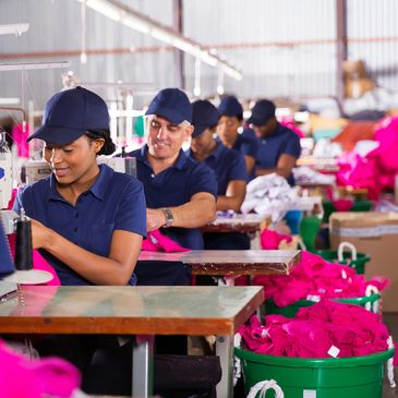 Clothing and apparel manufacturing