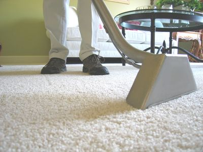 Steam cleaning carpet is recommended by the carpet industry