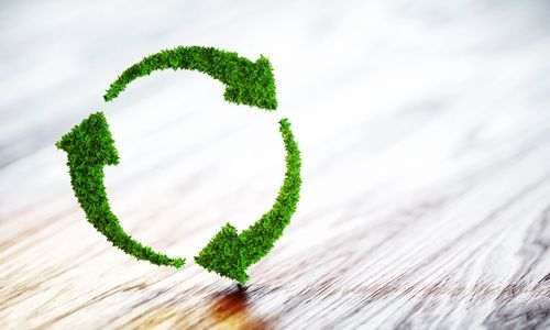 Environmental commitment to recycle and reuse wastes that are being produced.