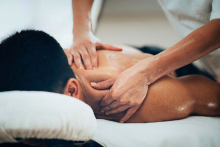 deep tissue, therapeutic massage