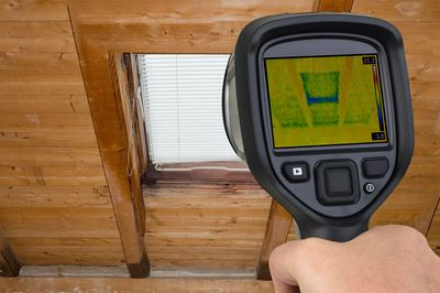 home inspection by Palm Beach Inspections in West Palm Beach, Florida. Infrared Thermal Imaging in e