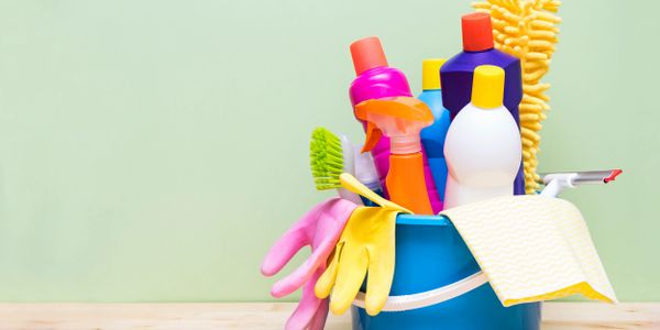 Kick the bucket! Use our all-natural cleaning products for your entire home!