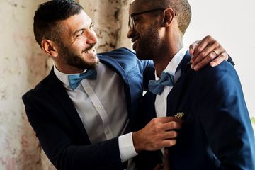 Groom and Groom, LGBTQIA Wedding