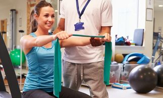 Injury rehab, rehabilitation, physical therapy, exercise, personal training, strength & conditioning