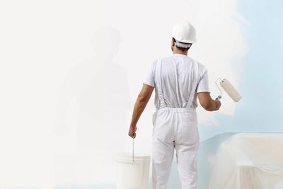 Because a house has been prepped for sale, paint may conceal hidden mold problems.