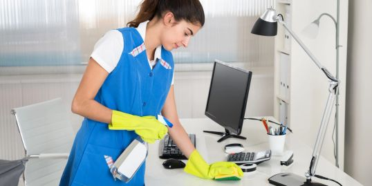 desk, clean commercial, office, deep clean, contract, monthly, weekly, competitive, maintenance,