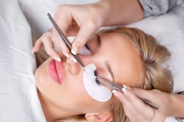 Eyelash Extension Process