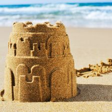click the sand castle if you are a Social Worker looking for RSW professional development workshops