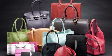 Leather purses, bags and wallets for men and women from some of the best brands around.