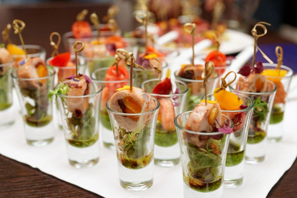 Appetizer Shooters
