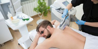 laser hair removal back hair removal IPL pigmentation removal telangiectasia removal