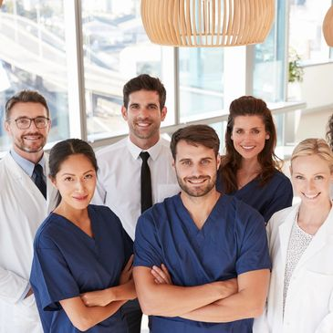 This is an image of the entire team of professionals at North Idaho Director Primary Care (DPC)
