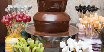 Chocolate Fountain Dipper DIsplays