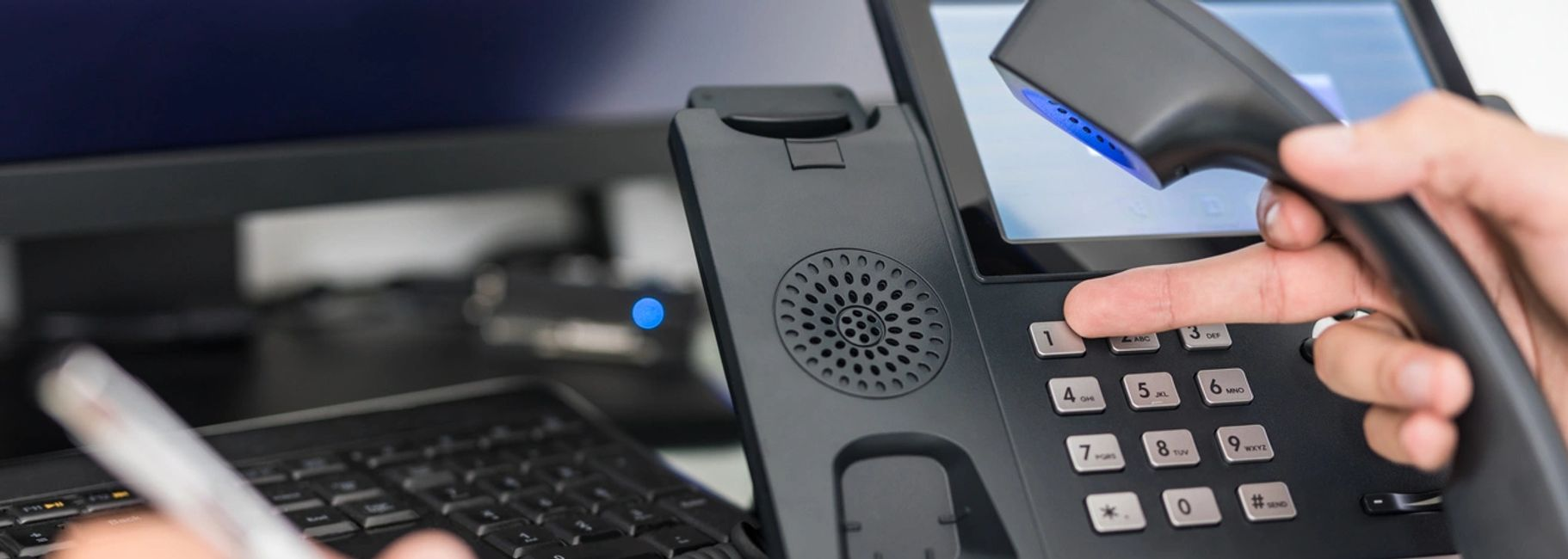 IP Telephones, Call Center Solution
