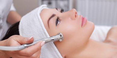 High frequency facial is very good for people who are prone to pimples and blemishes.