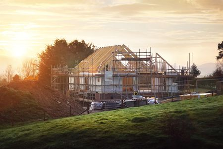 Beautiful new build timber frame property