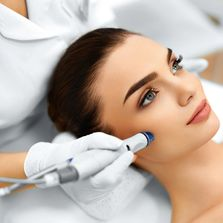 Microneedling triggers your own bodies natural healing defense to send collagen and elastin to heal