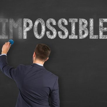 Believe! make the impossible, possible.