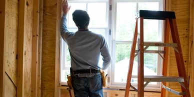 Window installation in a new Addition or remodel