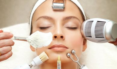 beauty botox filler chemical peel microneedling treatment for skincare and anti-aging